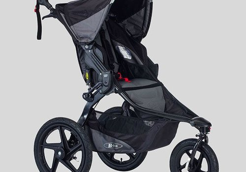 BOB 2018 BOB Revolution Pro Stroller In Black-Black