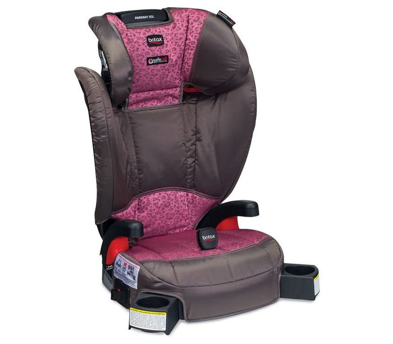 Britax Parkway SGL G1.1 Harness 2 Booster Seat In Cub Pink