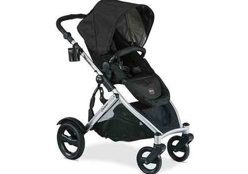Britax Britax B-Ready Stroller In Black With Cup Holder