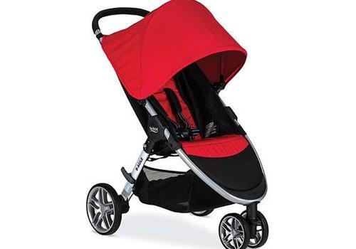 Britax Britax B-Agile Stroller In Red