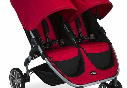 Britax Britax B-Agile Double Stroller In Red