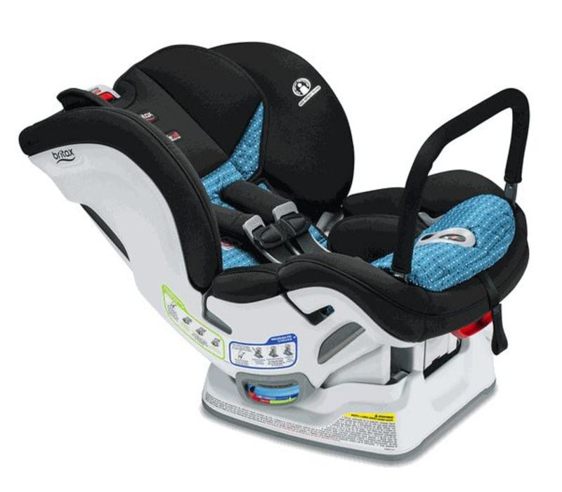 Britax Marathon Clicktight Anti Rebound Bar (ARB) Convertible Car Seat In Oasis