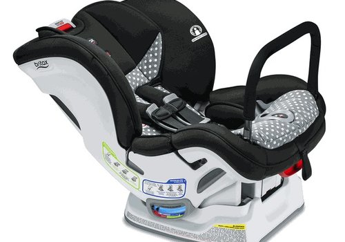 Britax Britax Marathon Clicktight Anti Rebound Bar (ARB)Convertible Car Seat In Ollie