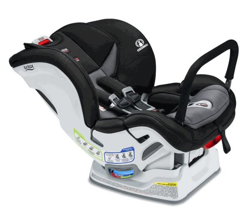 Britax Marathon Clicktight Anti Rebound Bar (ARB) Convertible Car Seat In Verve