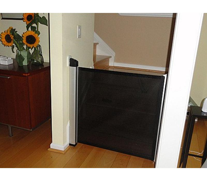 """Used 51/"""" Lascal Kiddy Guard Baby Safety Gate w//wall mount kit"""