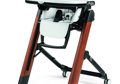 Peg-Perego CLOSEOUT!! Peg Perego Prima Siesta High Chair In White-Wood