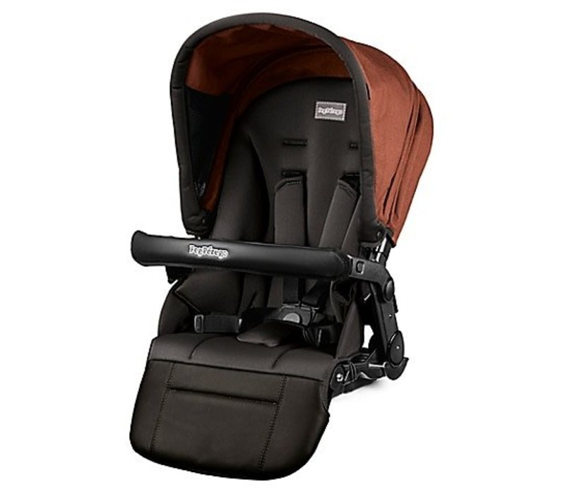 Peg Perego Second Seat For Team Stroller In Terracotta
