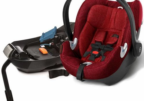 Cybex 2017 Cybex Cloud Q Plus In Hot And Spicy