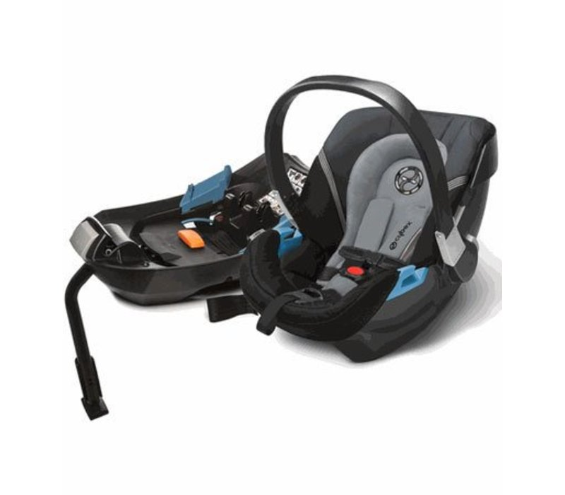 2017 Cybex Aton 2 Infant Car Seat With Base In Moon Dust