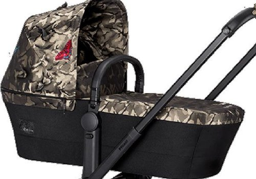 Cybex 2017 Cybex Priam Carry Cot In Fashion Edition Butterfly