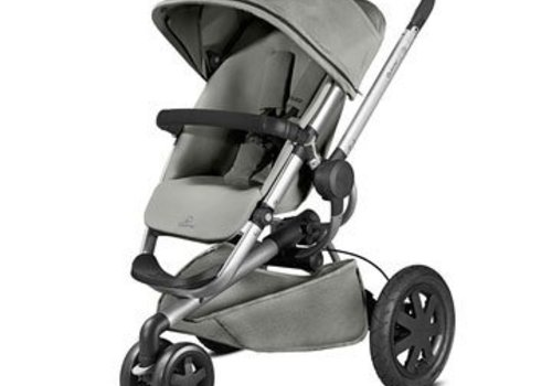 Quinny Quinny Buzz Xtra Wheel Stroller In Grey Gravel
