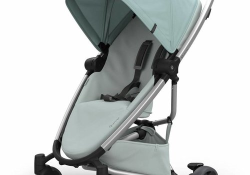 Quinny Quinny Zapp Flex Stroller With Folding Seat In Frost On Grey