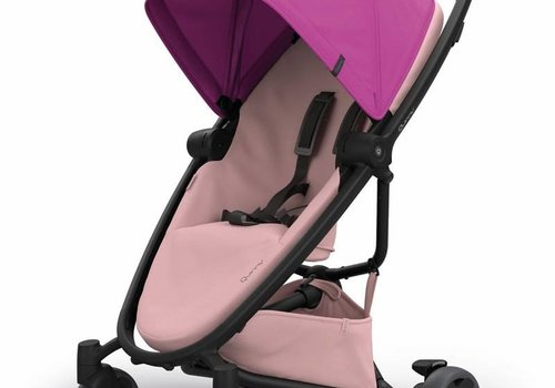 Quinny Quinny Zapp Flex Stroller With Folding Seat In Pink On Blush