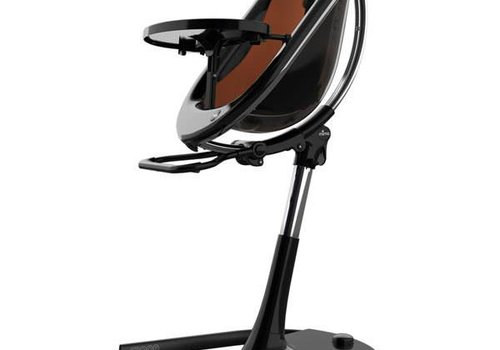 Mima Kids Mima Kids Moon 2G 3-in-1 Highchair In Black- Camel