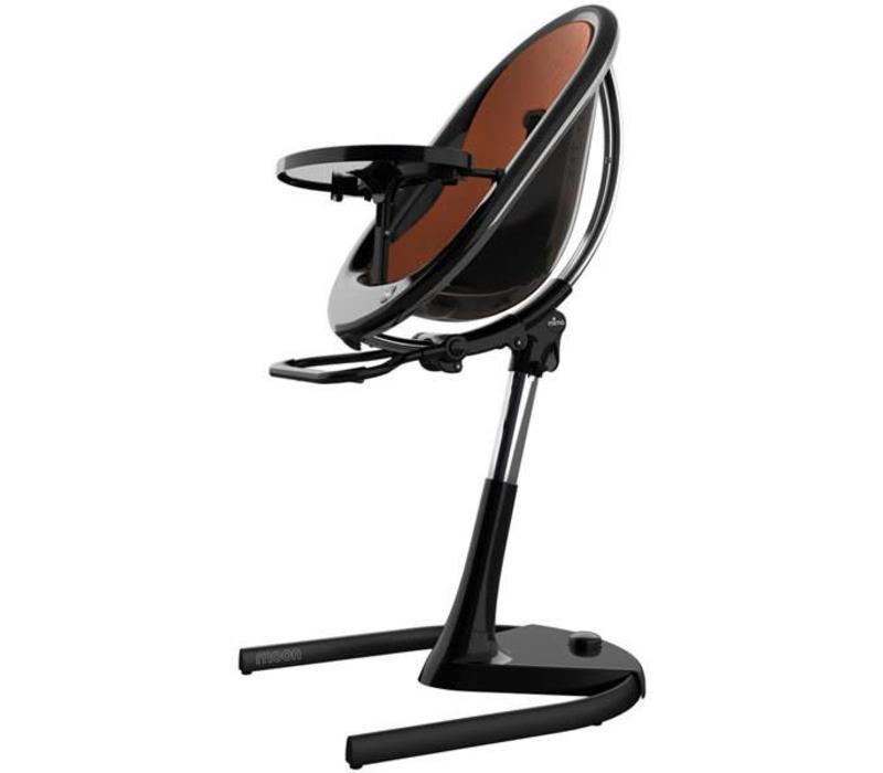 Mima Kids Moon 2G 3-in-1 Highchair In Black- Camel