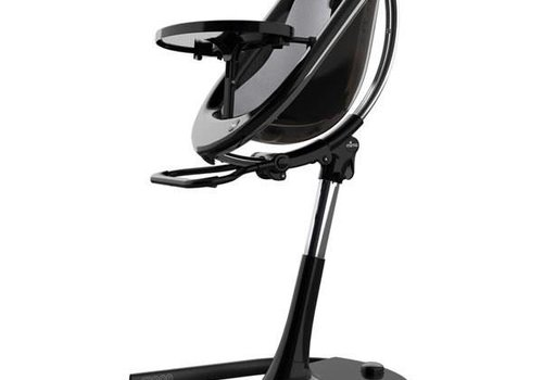 Mima Kids Mima Kids Moon 2G 3-in-1 Highchair In Black- Silver