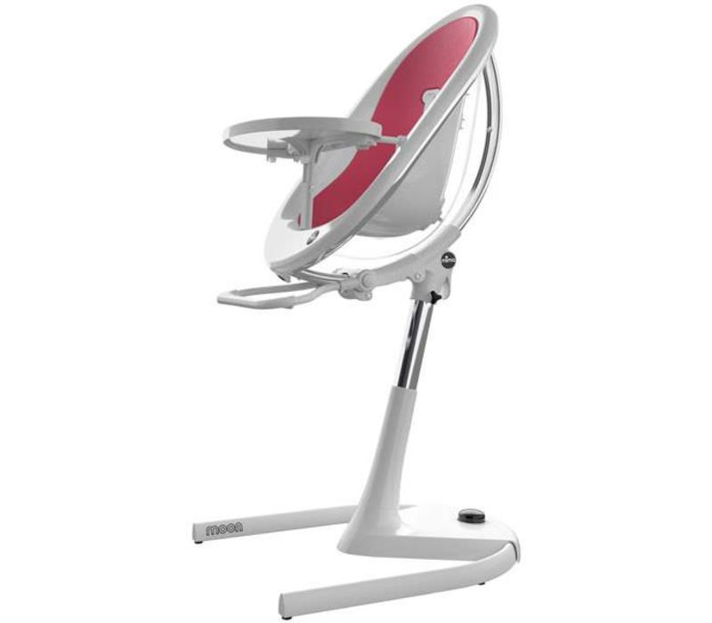 Mima Kids Moon 2G 3-in-1 Highchair In White - Fuchsia
