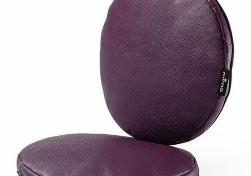 Mima Kids Mima Kids Moon Junior Chair Cushion Set In Aubergine