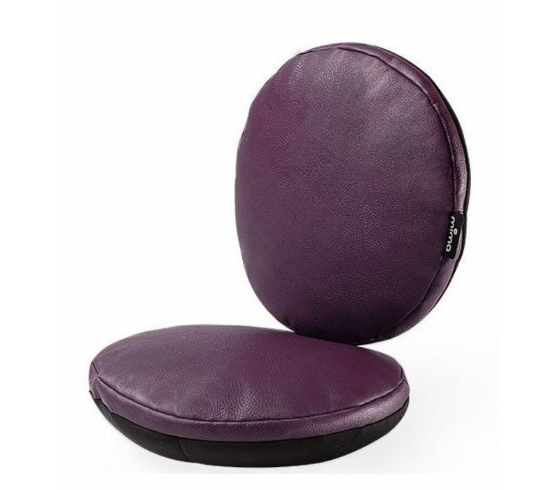 Mima Kids Moon Junior Chair Cushion Set In Aubergine