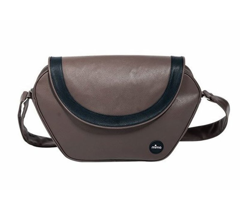 CLOSEOUT!! Mima Kids Trendy Changing Bag In Chocolate