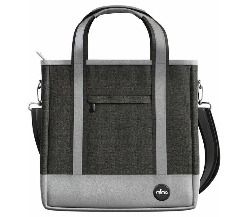 Mima Zigi Changing Bag In Charcoal