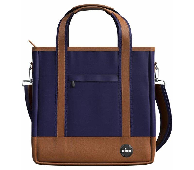 Mima Zigi Changing Bag In Midnight Blue