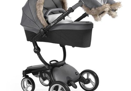 Mima Kids Mima Kids Xari Winter Outfit In Cool grey
