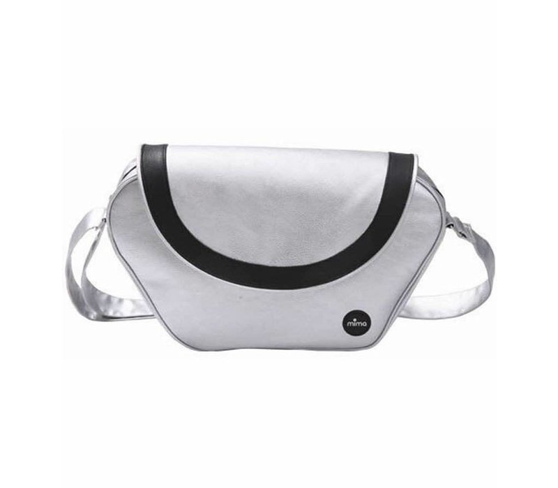 Mima Kids Trendy Changing Bag In Argento