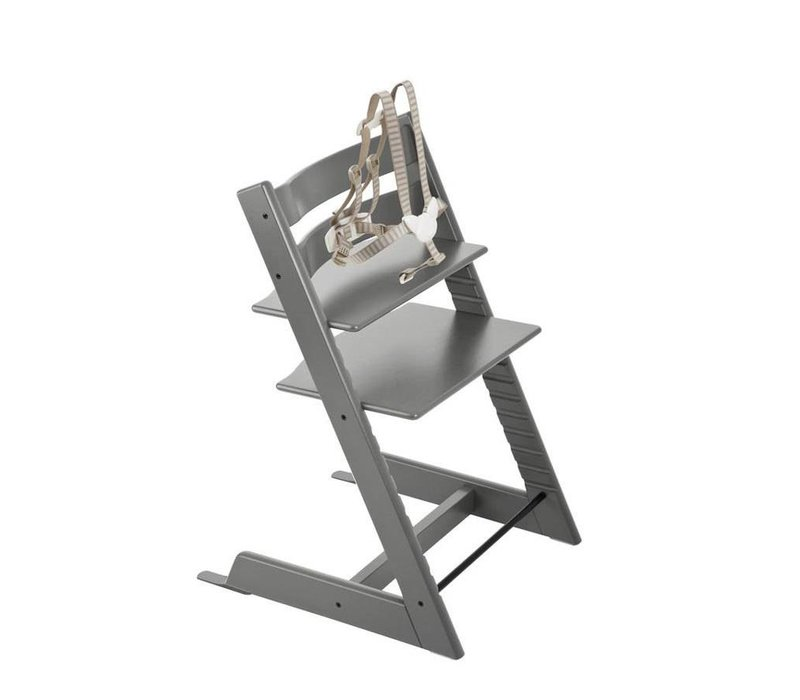 Stokke Tripp Trapp Classic Highchair In Storm Grey