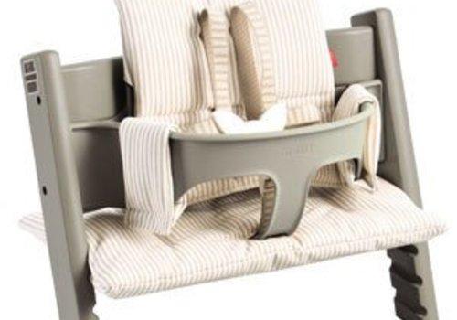 Stokke Stokke Tripp Trapp Cushions In Beige Stripe