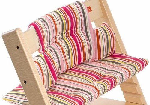 Stokke Stokke Tripp Trapp Cushions In Candy Stripe