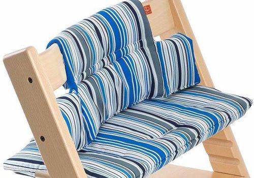 Stokke Stokke Tripp Trapp Cushions In Ocean Stripe