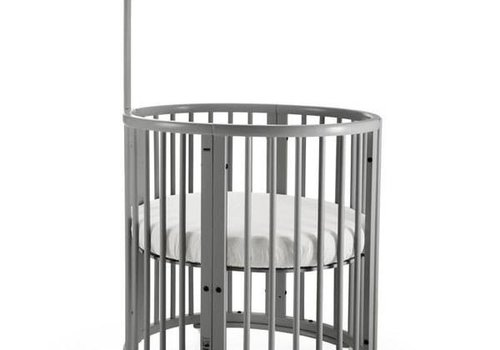 Stokke Stokke Sleepi Mini Bundle In Storm Grey With Mattress Includes Drape Rod