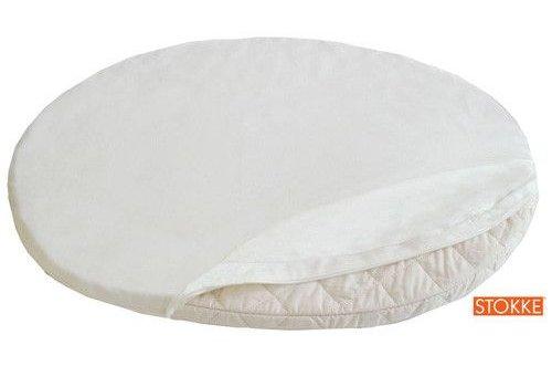 Stokke Stokke Sleepi Mini (Bassinet) Fitted Sheet In Classic White