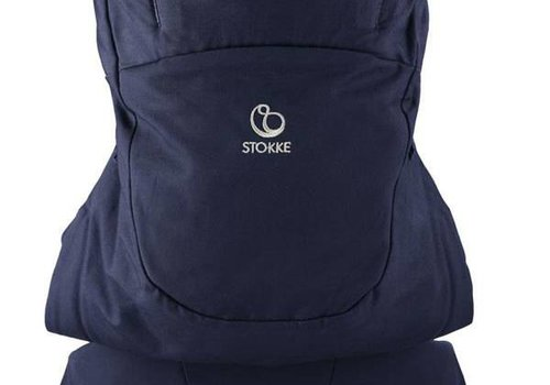 Stokke Stokke MyCarrier Front And Back Carrier In Deep Blue