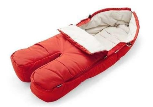 Stokke Stokke Xplory, Crusi Or Trailz Footmuff In Red For Seat