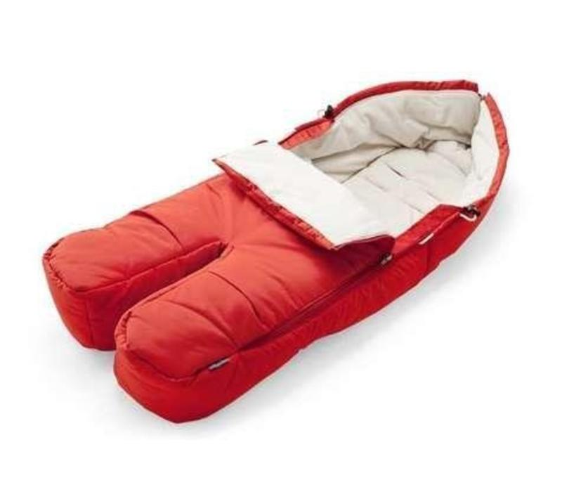 Stokke Xplory, Crusi Or Trailz Footmuff In Red For Seat