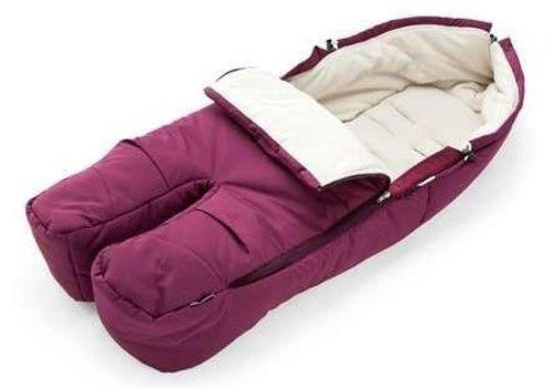 Stokke Stokke Xplory, Crusi Or Trailz Footmuff In Purple For Seat