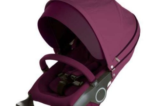 Stokke Stokke Xplory Or Crusi Seat Complete In Purple- Seat With Style Kit Set