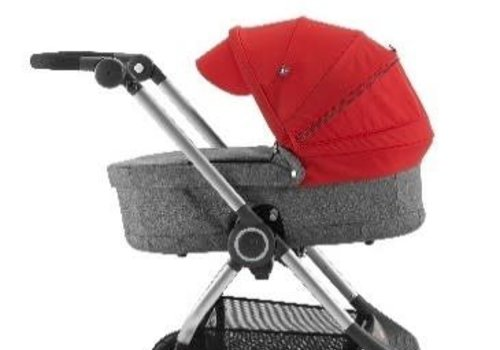 Stokke Stokke Scoot Carry Cot In Black Melange