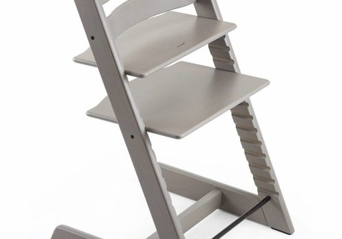Stokke Stokke Tripp Trapp Classic Highchair In Oak-Greywash