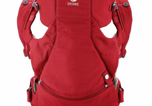Stokke Stokke MyCarrier Front And Back Carrier In Red