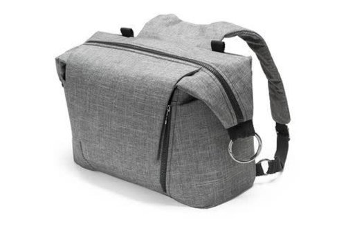 Stokke Stokke Universal Changing Bag In Black Melange