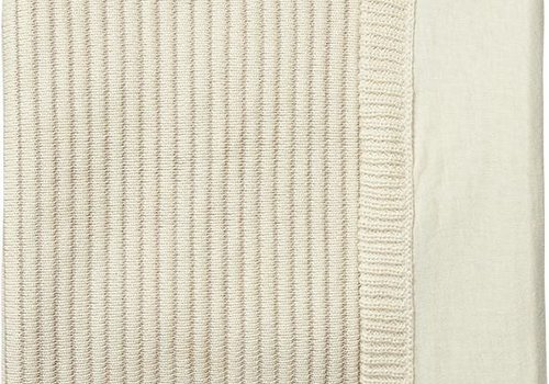 Joolz Joolz Essentials Ribbed blanket  Off-white