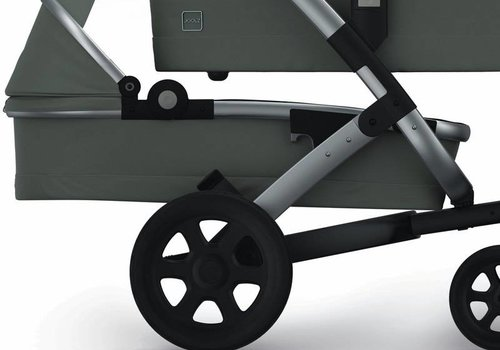 Joolz Joolz Geo2 Earth Lower Cot Plus seat In Elephant Grey