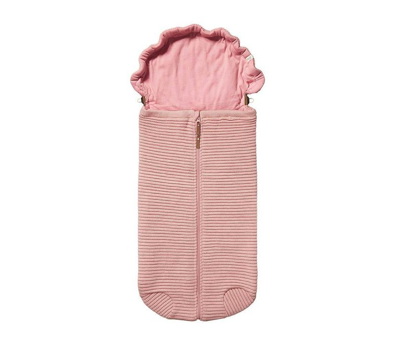 Joolz Essentials Ribbed Nest  Pink
