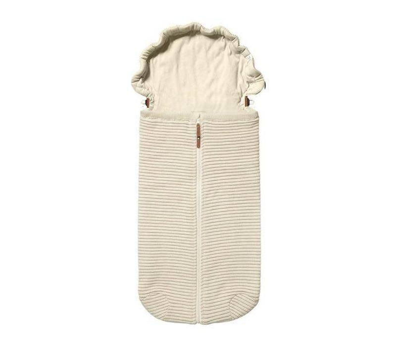 Joolz Essentials Ribbed Nest  Off-white