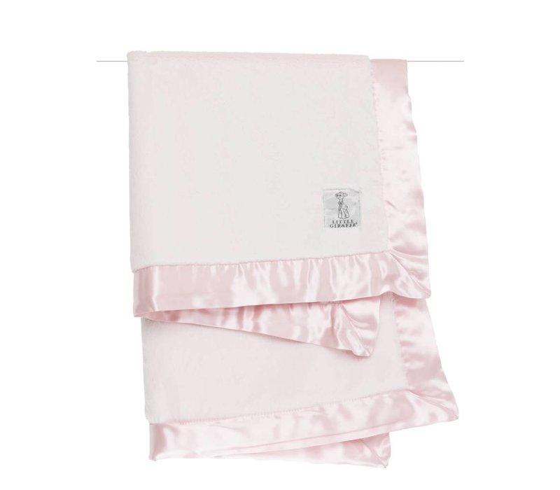 Little Giraffe Luxe Blanket In Pink