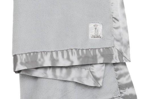 Little Giraffe Little Giraffe Luxe Blanket In Silver
