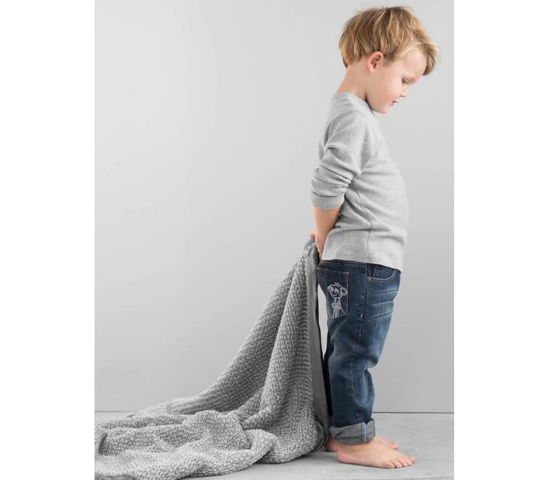 Little Giraffe Luxe Herringbone Blanket